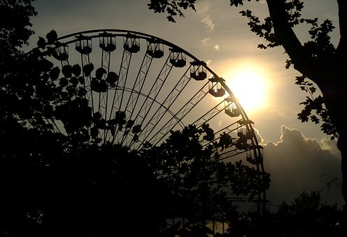 Ferris Wheel, Amusement Park