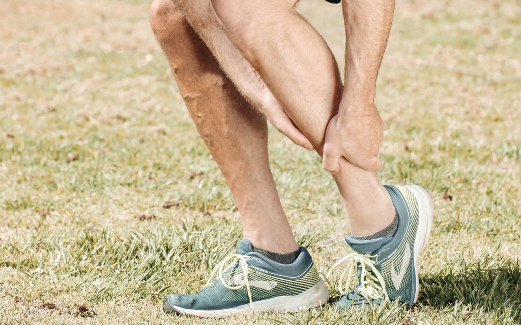 A Third Grade Injury on the Calf Muscle